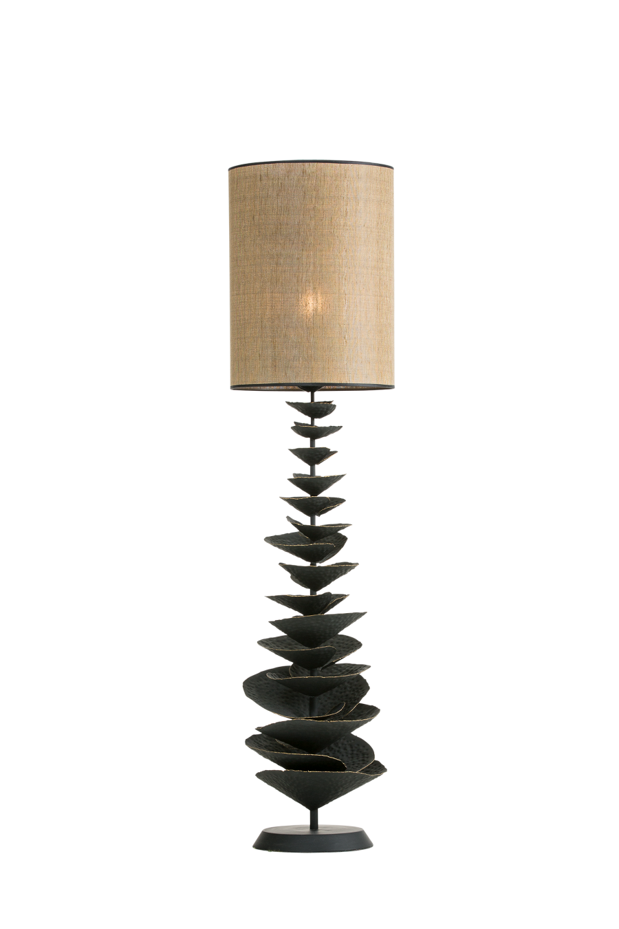 Bracket fungus floor lamp