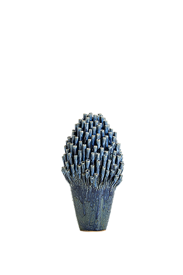 Coral vase table lamp
