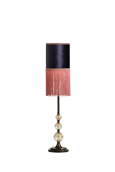 Golden globe table lamp
