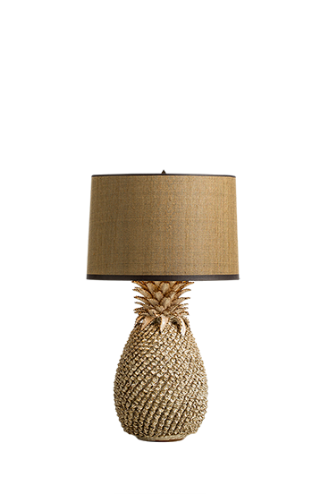 Pine chic table lamp large